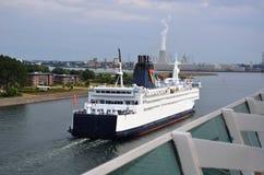 En Allemagne, vues de ferry Image libre de droits