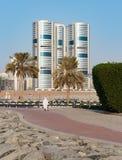 En allmän sikt av Sharjah UAE Royaltyfria Bilder