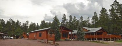 En alpina Tal Wi Wi Lodge Near, Arizona Arkivfoto