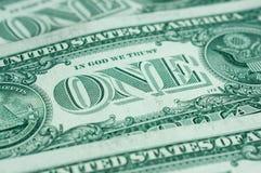 En amerikansk dollar Royaltyfri Foto