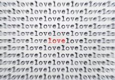 En amor Foto de archivo libre de regalías
