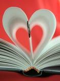 En amor con literatura Imágenes de archivo libres de regalías