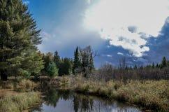 En annalkande storm Royaltyfria Bilder
