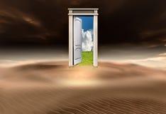 en annan dörr till världen Royaltyfri Foto