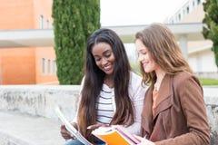 En annan dag på universitetet! Royaltyfria Bilder