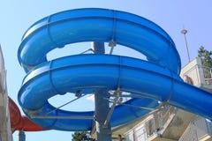 En aquaparc i Obzor, Bulgarien Fotografering för Bildbyråer