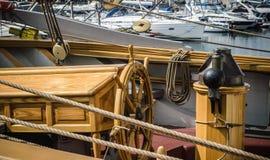 En arbetsplats av kaptenen Royaltyfri Foto