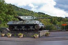 En Ardennes de La Roche - 20 de setembro: Contratorpedeiro Mk10 de Achilles Tank Foto de Stock Royalty Free