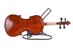 En arrière du violon Photo stock
