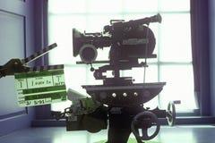 En Arriflex 16mm filmkamera för Hollywood filmbransch Royaltyfri Fotografi