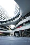 En Asia, China, Pekín, SOHO, la vía láctea, arquitectura moderna Fotos de archivo