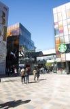 En Asia, Pekín, China, abre el distrito de las compras, Taikoo Li Sanlitun Fotos de archivo libres de regalías