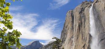 En av de högsta vattenfallen i världen royaltyfri foto