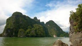 En av de Phi Phi öarna Thailand Fotografering för Bildbyråer