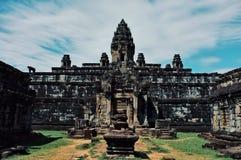 en av den arkeologiska mest berömda templet fördärvar platsen arkivbild