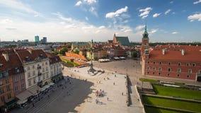 En av den gamla staden för gataWarszawa (stirrandet Miasto) är det äldsta historiska området av Warszawa Arkivfoton
