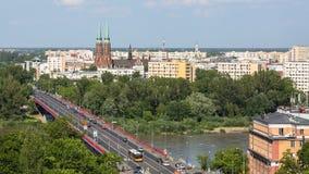 En av den gamla staden för gataWarszawa (stirrandet Miasto) är det äldsta historiska området av Warszawa (det 13th århundradet) Royaltyfri Fotografi