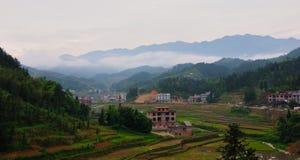 En by av det Xinhua länet Arkivbild