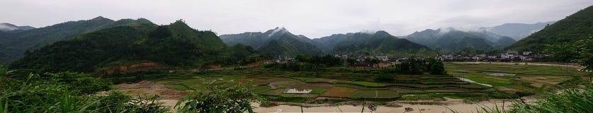 En by av det Xinhua länet Fotografering för Bildbyråer