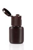 En av kosmetiska flaskor Fotografering för Bildbyråer