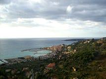 En av kusterna av Italien Royaltyfri Bild