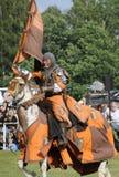 Riddare på häst Royaltyfri Bild