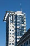 En av Twintowersen Berlin Arkivbild
