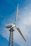 En av vindturbinen Royaltyfria Bilder