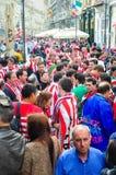 En avant de la ligue 2012 d'Europa finale (10) Image stock