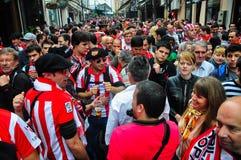 En avant de la ligue 2012 d'Europa finale Photos stock