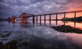 En avant le pont, Edimbourg, Ecosse Images libres de droits