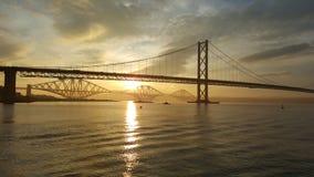 en avant lever de soleil Photo libre de droits