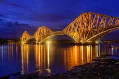 En avant pont en rail, Ecosse, R-U Images libres de droits