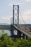 En avant pont en route Photos stock