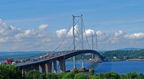 En avant pont en route Photo libre de droits