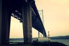 En avant pont en route - regardant du sud Photographie stock libre de droits
