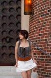 Kort kjol Arkivbilder