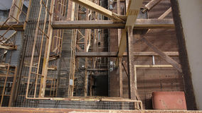 En bästa sikt av den industriella platsväxten Royaltyfria Bilder
