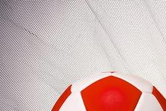 En bakgrund för fotbollfans Arkivfoton