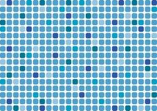 En bakgrund i form av en mosaik i blåa färger Arkivbilder