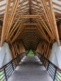 En bambubrodetalj Royaltyfria Foton