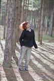 En banhoppningflicka Royaltyfri Fotografi