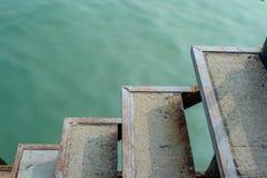 En bas au port Photographie stock libre de droits