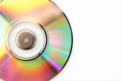 En begreppsbild av en CD, diskett - med kopieringsutrymme Arkivfoto