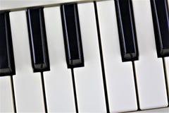 En begreppsbild av ett pianotangentbord Arkivbilder