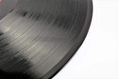 En begreppsbild av ett vinylrekord - lp, tappning Royaltyfria Foton