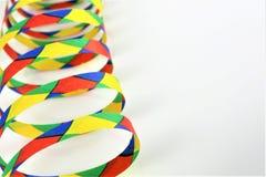 En begreppsbild av en karnevalkonfetti festar Fotografering för Bildbyråer