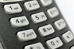 En begreppsbild av en telefon - telefon Arkivfoton