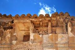 En Belchite del destruido de Tejado Fotografía de archivo