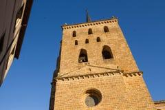 En Benavente di Santa Maria del Azogue della chiesa immagini stock libere da diritti